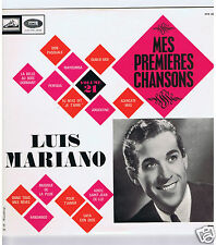 LP LUIS MARIANO MES PREMIERES CHANSONS