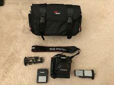 Canon EOS Rebel T1i 15.1MP Digital SLR Camera - Black, with Canon 18-55mm lens