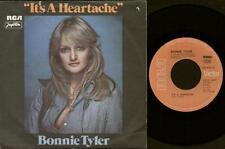 "BONNIE TYLER It'S A Heartache  7"" Ps, Rare Yugoslavian Issue, B/W Got So Used To"