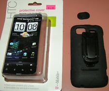 Body Glove hard shell case with belt clip HTC Sensation 4G, Black, w Kickstand