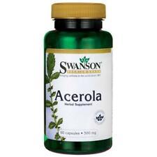 Acerola Cerise Extrait Naturel Vitamine C Anti-oxydant Wholefood 500mg 60 Gélule