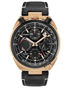 NEW Citizen Promaster Tsuno Bullhead Chronograph AV0073-08E, Eco-Drive Watch