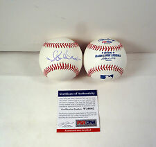 PLACIDO DOMINGO THREE TENORS SIGNED AUTOGRAPH MLB BASEBALL PSA/DNA COA