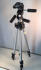 Bogen Manfrotto 3021 tripod 3047 head w/ quick release wide range of features