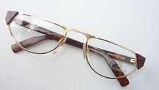 Lesebrille Nahbrille Fassung Marke Rodenstock hochwertig gold braun size M