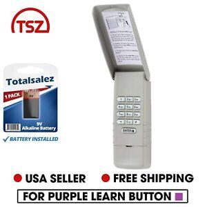 For Liftmaster 377LM Keypad Wall Garage Gate Door Opener 139.53754 Purple Learn
