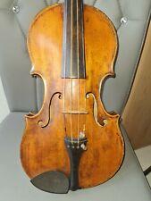 Alte Russische 4/4 Violine mit Brandmarke A.S und  Inschrift.???