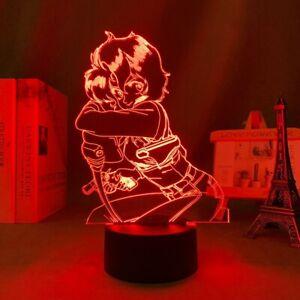 Anime 3d Lamp Gunsmith Cats Rally Vincen for Bedroom Decor Kids Brithday Gift Ma