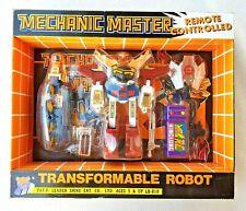 MECHANIC MASTER: REMOTE CONTROLLED ROBOT (RARE TRANSFORMERS BOOTLEG! 90´S!) BNIB