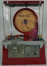 Gum Dispenser-Basketball Penny  Circa 1940's or 1950's Gumball Machine