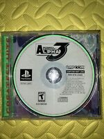 Street Fighter Alpha 3 (Sony PlayStation 1, 1999) No Manual. Video Game & Case!!