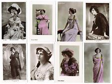 Evelyn Millard - Lot of 143 postcards of this Edwardian Theatre Actress