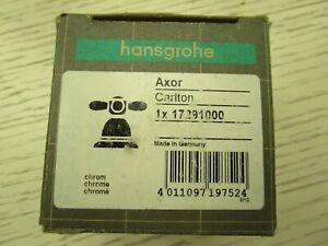 Hansgrohe Axor Carlton Kaltwasserkreuzgriff 17291000 Neu