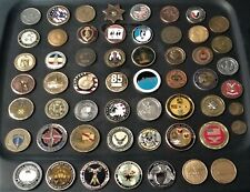 55 Coins Challenge Coin lot set Collection Military ALL SERVICES US See ALL Pics