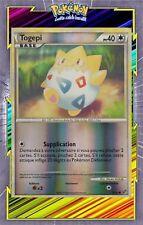 🌈Togepi Reverse - HS04:Indomptable - 70/90 - Carte Pokemon Neuve Française