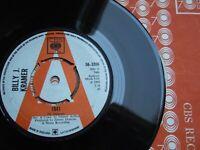 "BILLY J. KRAMER - 1941 - PROMO UK 7"" CBS 56-3396 / 1968 IN CO.SLEEVE EX"