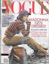 VOGUE MAGAZINE OCTOBER 1992 (SEALED, VF) MADONNA
