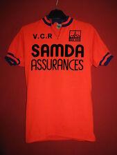 Cycling t-shirt VCR Samda Insurance BE Vintage retro Bike - M
