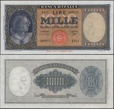 1000 Lire Medusa 25/9/1961 Carli - Ripa quasi FDS