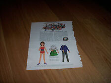 Betsy McCall Writes letter from Camp 1965 Vintage Betsy McCall Mag. Paper Doll