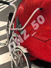 RARE Luxury Lowrider CHOPPER Bike Custom w/ SWAROVSKI Crystals bicycle xmas gift
