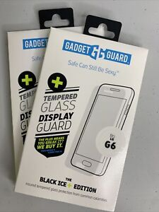 Gadget Guard Black Ice Edition Tempered 2 Glass Screen Guard for LG G6 - Clear