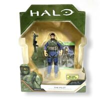 Halo Infinite World Of Halo The Pilot Figure w/ Game Add-On 2020 Series 1 NEW