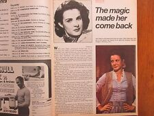 1973 Chicago Tribune TV Week(JEAN PETERS/EL CARABALI/HOWARD HUGHES/MUNDO HISPANO