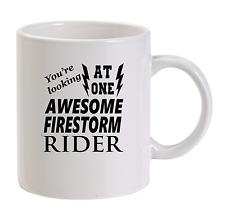 Awesome FIRESTORM Rider Tazza NUOVO divertente regalo di compleanno papà HONDA