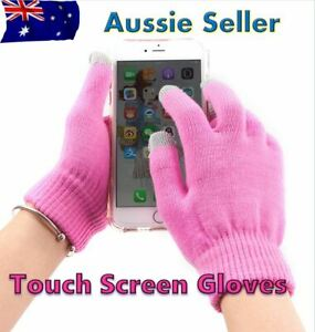 Gloves Warm Touch Screen Glove Men Women Knitted Soft Gloves for Tablet Phone