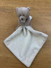 Doudou et Compagnie Brown/Cream Bear Comforter Soother VGC