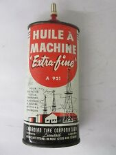 VINTAGE ADVERTISING  OILER HUILE CANADIAN OIL  TIN COLLECTIBLE     412-Z