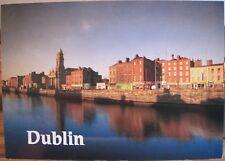 Irish Postcard ARRAN QUAY Dublin River Liffey Liam Blake Real Ireland SP48 1990s