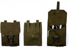 ARMY SURPLUS GREEN 2 GRENADE POUCH (PAIR - 2 PCS)