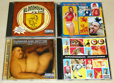 4 CD SET BLOODHOUND GANG - ONE FIERCE BEER COASTER HOORAY FOR BOOBIES HEFTY FINE