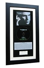 TIESTO DJ Just Be CLASSIC CD Album GALLERY QUALITY FRAMED+EXPRESS GLOBAL SHIP