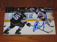 SLAVA VOYNOV AUTOGRAPHED LA KINGS 4X6 PHOTO # 1
