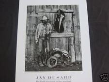 Jay Dusard Cowboy Portrait-Lonnie Jones, Cow Boss British Columbia 1981 MINT
