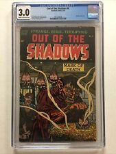 Out of the Shadows 8 - CGC 3.0 - Shrunken Head Cover