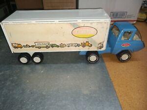 Mini Tonka Super Thrust 70's Box Semi Truck
