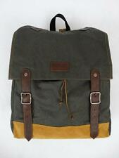NWT American Eagle Men's Heritage Buckled Backpack Green Olive Travel School Bag