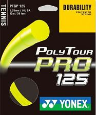 Yonex POLY TOUR PRO 125 12 M tennis CORDA TENNIS STRINGS