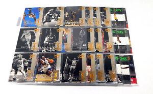 1999-00 UD Century Legends Basketball Near Complete Set (89)
