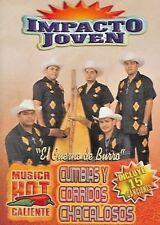 Impacto Joven - Cumbias Y Corridos Chacalosos (DVD, 2006) WORLD SHIP AVAIL