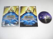 La edad de las maravillas sombra Magic PC CD ROM incluye manual de gran post rápido