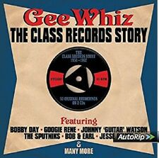 Gee Whiz-Class Records Story 1956-1962 2-CD NEW SEALED Bob & Earl/Bobby Day+