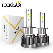 ROADSUN H1 LED Headlight Conversion Kit 72W 9000LM Fog Light Bulbs Lamps 6500K