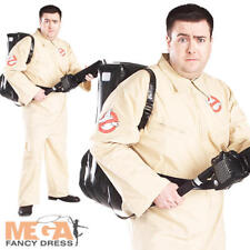 Plus Taille Ghostbusters Homme Halloween Déguisements 1980 S Ghostbuster XXL Costume