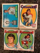 1971-72 OPC Hockey Card Lot - 83 Cards