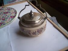 Taylor Tunnicliffe and Co small biscuit barrel or Lozenge barrel c 1868-1898